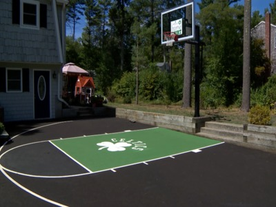 Home playing court