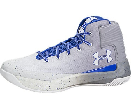 Under Armour Men's Curry 3 White/Blue/Gray